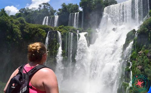 Captivated by Iguazu Falls
