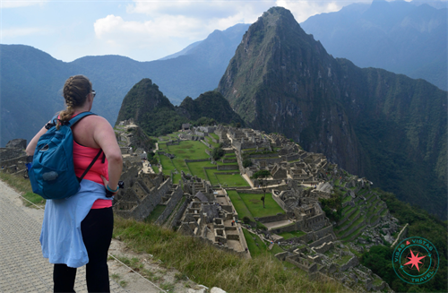 Amazing views while hiking Machu Picchu