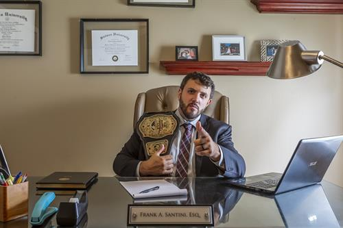 Gallery Image Riverview_Office_Mr._Santini_with_championship_wrestling_belt.jpg