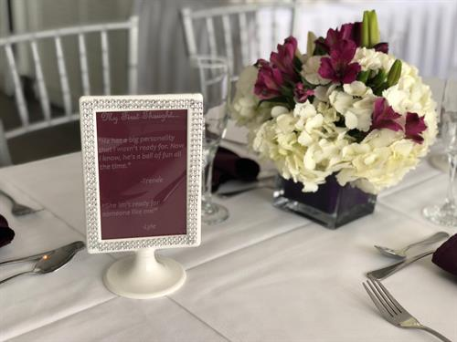 Personalized centerpieces
