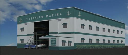 Riverview Marina High & Dry Indoor Boat Storage