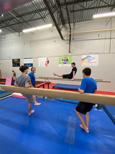 Gymnastics Boys Team