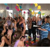 RIbbon Cutting for Dancing for Joy