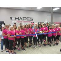 Ribbon Cutting for Shapes Fitness for Women - Brandon