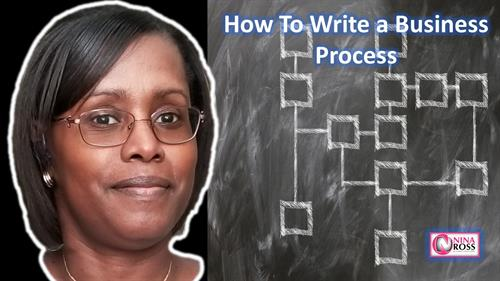 YouTube Video: How to Write a Business Process