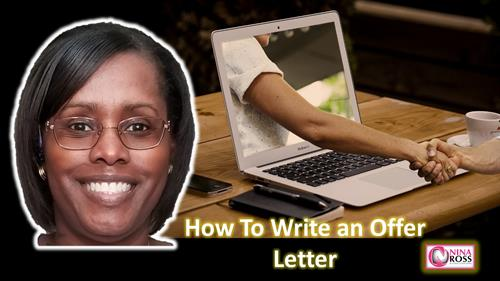 YouTube Video: How to Write an Employment Offer Letter