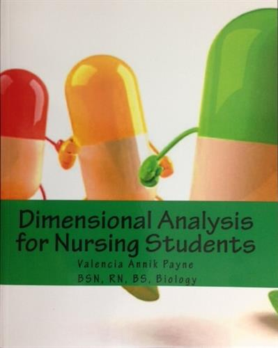 Author of Dimensional Analysis for Nursing Students Featured on Amazon.com