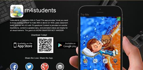 rn4students App Featured in App & Google Play Store