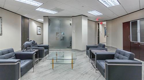 Modern Risk Management Lounge Area