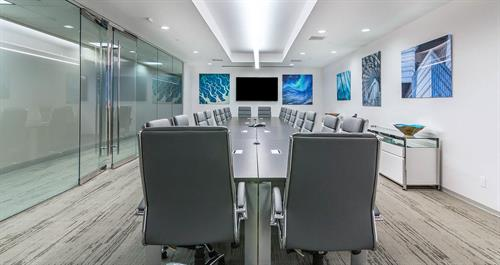 Modern Risk Management Large Conference Room