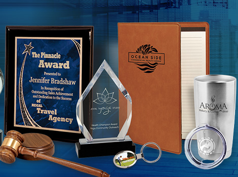 Laser Engraved Awards, Plaques, Business Gifts