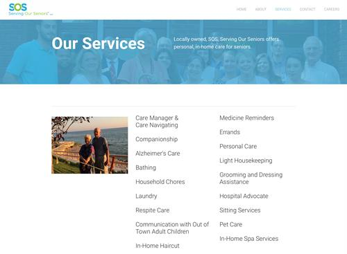 Services we Offer at SOS