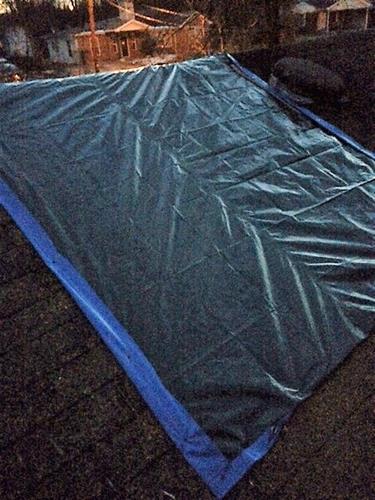 tarping