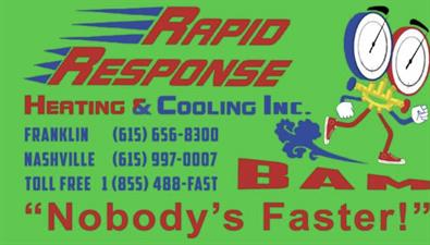 Rapid Response Heating and Cooling