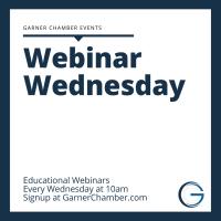 Webinar Wednesdays