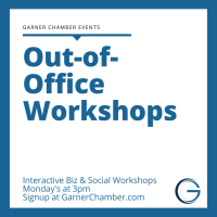 Out of Office Workshop - Selling Yourself (& Your Business) While Social Distancing