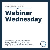Webinar Wednesday
