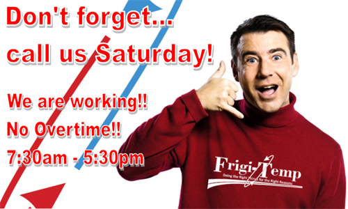 A promotion for our No Overtime Saturdays