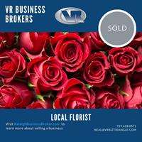 Garner Chamber Member Firm Facilitates the Sale of a Florist Just Before Valentine's Day...