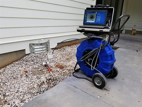 We do Sewer Camera Inspections and Locate