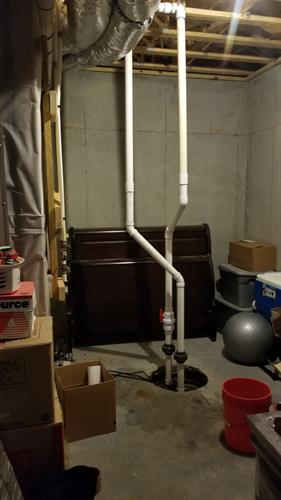 Basement Ejector Pump