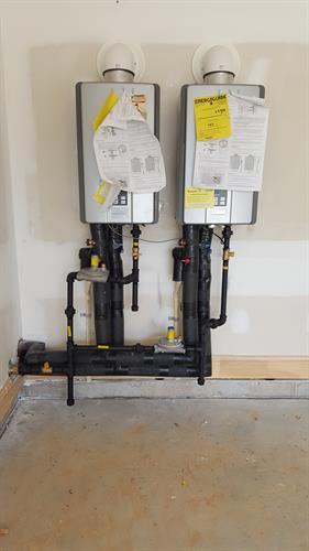 Tandem Tankless Water Heaters