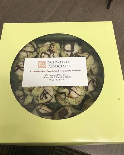 Schweizer & Associates Box of Cookies