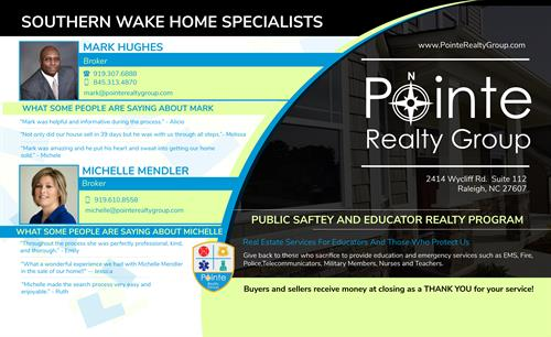 Southern Wake Home Specialists With Pointe Realty Group