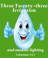 Three Twenty-three Irrigation and Outdoor Lighting