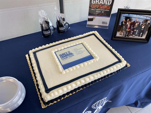 "A special 'thank you"" to Lowes Food's for our delicious cake!"
