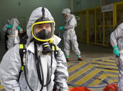 Our team is hazmat certified to handle all dangerous situations!
