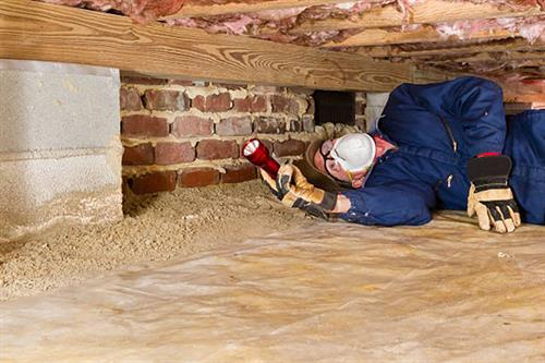 Leaky crawlspace? We can help!