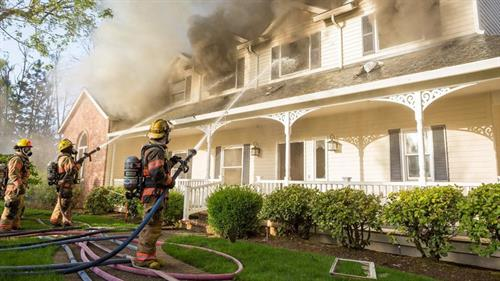 When fire strikes, call us ASAP to help get you back on your feet.