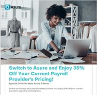 35% OFF YOUR CURRENT PAYROLL PROVIDERS INVOICE