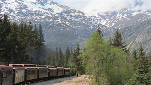 White Pass Railroad Alaska to Canada