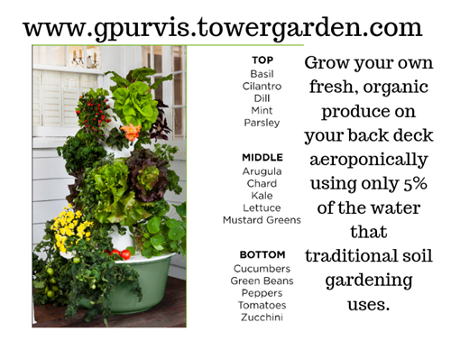 Grow your own Tower Garden