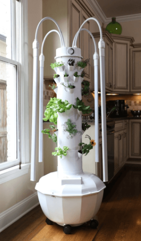 Tower Garden Home