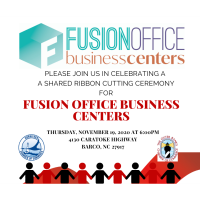 Join us to celebrate Fusion Office Business Centers joint Ribbon Cutting Celebration