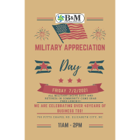 Military Appreciation Day with B&M Contractors, INC.
