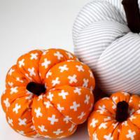 """Gettin' Crafty: Fabric Pumpkins"" - West Chicago Public Library"