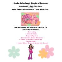 WOMEN IN BUSINESS THINK PINK EVENT
