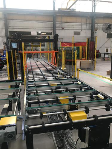 Test Loop With Conveyors and Accumulator