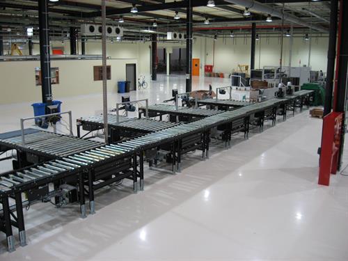 Grenzebach Roller Conveyors