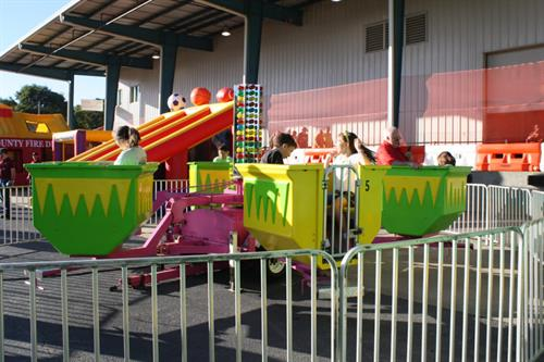 Several mechanical rides available for the entire family