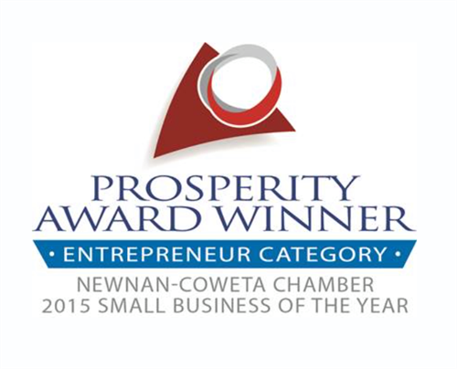 Prosperity Award Winner - 2015 Small Business Of The Year