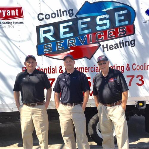 Edgar, David and Nathan Reese