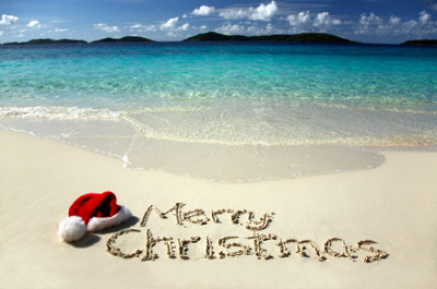 Spend Christmas on a beach somewhere