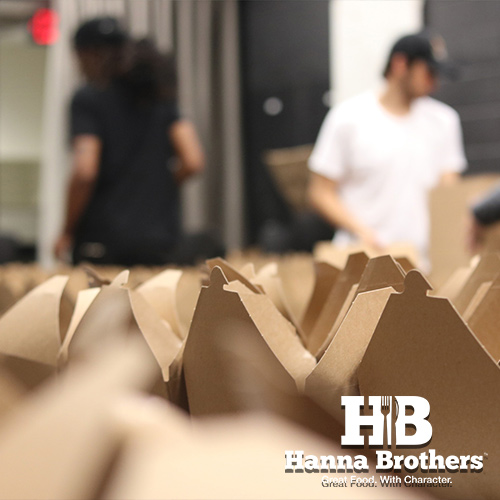 Hanna Brothers Disaster Relief Catering & Boxed Meal Services.