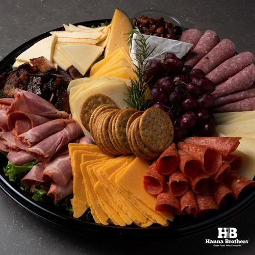 Order a Gourmet Meat & Cheese Platter to go!
