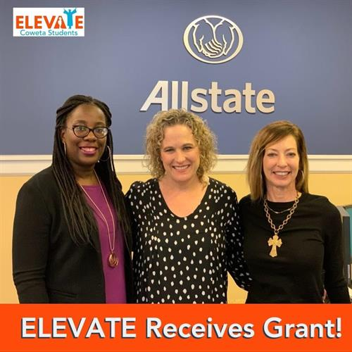 Kaitrell Hall, licensed insurance representative, serves as as mentor for Elevate Coweta.